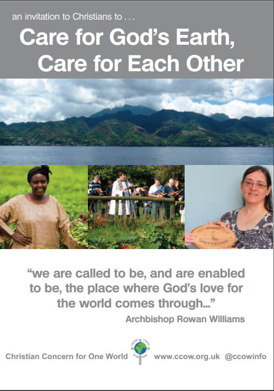 Invitation to care for the earth